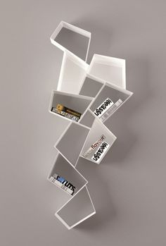Amazing cubic bookcase - 20 Original and out of the ordinary bookcases