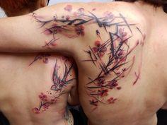 Tattoo by Petra Hlaváčková, via Behance