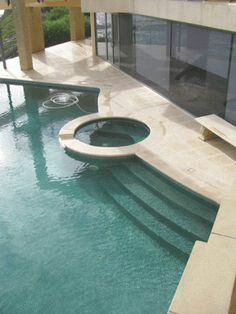 Travertine floor tiles and outdoor paving from Sydney stone & slate specialists - Bellstone
