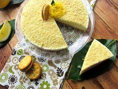 Una pincelada en la cocina: tarta refrescante de bocaditos de limón