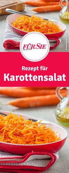 Rezept für Karottensalat Low Carb
