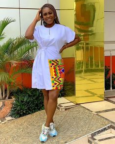African Dresses For Kids, Latest African Fashion Dresses, African Dresses For Women, African Print Fashion, African Attire, African Print Dress Designs, Short Gowns, Look Fashion, Ideias Fashion