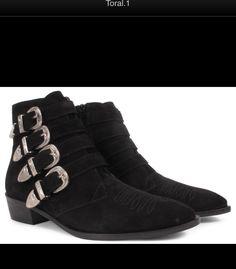 efd64304b29 9 beste afbeeldingen van Toral boots - Buckle boots, Vans top en ...