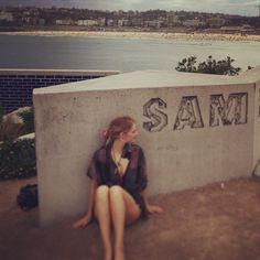 """3,739 Likes, 20 Comments - samara weaving (@samweaving) on Instagram: """"SAM"""""""