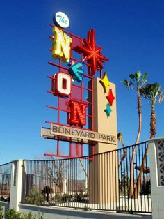 The Neon Boneyard.