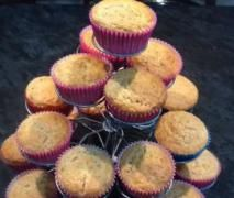 Clone of Banana, Rice Syrup and Cinnamon Muffins (GF, LF, Egg Free and FODMAP friendly)