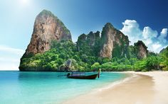 Which Phuket beach is best? Each Phuket beach has its own charms and beauty. You decide with the help of our rundown of top beaches on the Thai island of Phuket. Thailand Wallpaper, Boat Wallpaper, Travel Wallpaper, Iphone Wallpaper, Wallpaper Wallpapers, Computer Wallpaper, Nature Wallpaper, Amazing Destinations, Travel Destinations