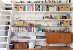 Bookshelves | pimp your room: déjà vu ... the return of the hardware store shelf