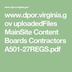 www.dpor.virginia.gov uploadedFiles MainSite Content Boards Contractors A501-27REGS.pdf