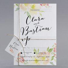 #Letterpress #Hochzeitskarten #kreativehochzeitskarten #einladungskarten  Bubbly Color M20 018 3 Teilige