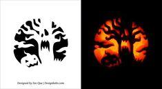 pumpkin carving templates - Google-Suche