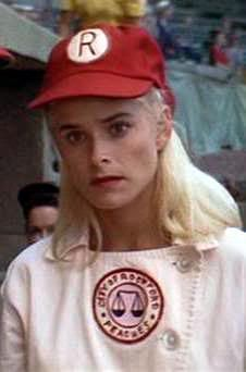 Our own Freddie (Fredda) Simpson in A League of Their Own.  Saw a softball picture which made me think of her!