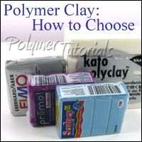 Tips for choosing polymer clay for your project by Polymer Tutorials