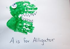 Snails and Puppy Dog Tails: A is for Alligator ...again