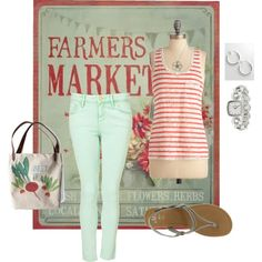 Farmers Market, created by jpmommy3 on Polyvore