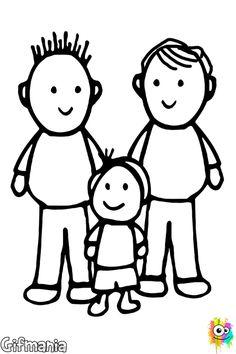 un niño con dos papás