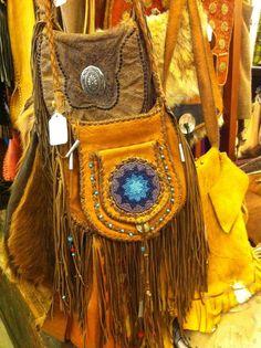 Bohemian bags I wish I'd find at a flea market