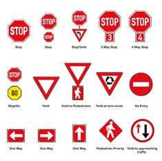 South African Road Traffic Signs Regulatory Signs, Learners Licence, Directional Signs, African, Books, Miniature, Construction, Education, Image
