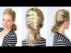Center Twist + Bun