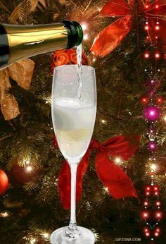 Happy New Year animated champagne gif graphic happy new year happy new year quote happy new year greeting Happy New Year Gif, Happy New Year Images, Merry Christmas And Happy New Year, Christmas Time, Beautiful Christmas Cards, Christmas Images, New Year Wishes, New Year Greetings, Christmas Greetings