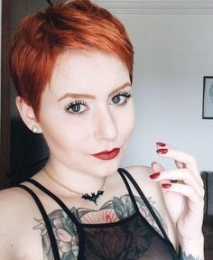 perfect pixie in red