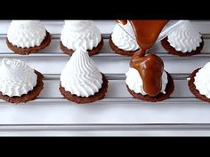 Меренга под шоколадом / Meringue for chocolate - YouTube