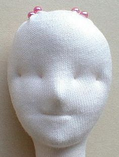 sculpting the doll head
