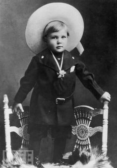 Gary Cooper as a Toddler