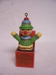 Vintage Hallmark Ornament Christmas 1977 Jack