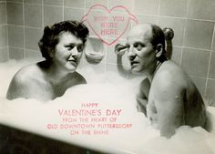 "Julia and Paul Child are simply the most charming couple ever: ""Valentine cards had become a tradition of ours, born of the fact that we could   never get ourselves organized in time to send out Christmas cards."" - Julia Child"