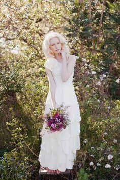 BEGONIA Wedding Gown II by kelseygenna on Etsy, $560.00 #afestiveheart
