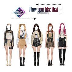 Korean Fashion Kpop, Korean Street Fashion, Kpop Fashion Outfits, Stage Outfits, Edgy Outfits, Retro Outfits, Dance Outfits, Girl Outfits, Cute Outfits