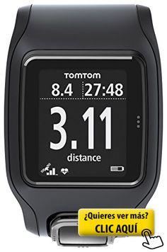 TomTom Runner Cardio - Reloj con GPS para correr,... #pulsometro