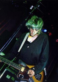 """ Kurt Cobain from Kilburn National Ballroom, London / 1991 "" [Kurt Cobain, Krist Novoselic, Dave Grohl] Emo Bands, Music Bands, Aberdeen, Donald Cobain, Nirvana Kurt Cobain, Smells Like Teen Spirit, Punk, Dave Grohl, Rock Legends"