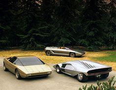 Bertone concepts 1965