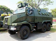 Singapore unveils Renault Trucks Defense Higuard MRAP armoured vehicles