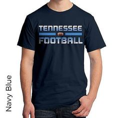 Tennessee Football Graphic T-Shirt Sports SL109