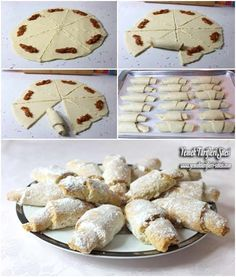 Full Measured Apple Cookies Recipe, How to Make? Cookie Recipes, Dessert Recipes, Desserts, Bread Recipes, Turkish Kitchen, Apple Cookies, Wie Macht Man, Most Delicious Recipe, Man Food