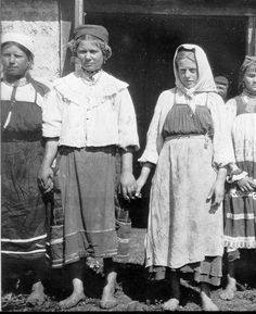 Russian peasants