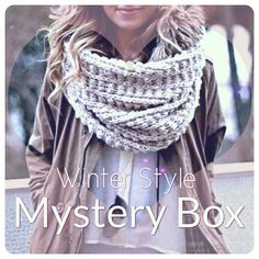 ❄Winter Style Mystery Box❄ Winter theme mystery box for any size, just give me your shirt, pant and coat size! Includes 3 full outfits for the winter time. Individual jackets & coats come with each individual outfit. Hats, beanies, ear muffs, scarves, etc may be included. Brands may include Forever 21, Charlotte Russe, Bebe, American Eagle, Nine West, Ann Taylor, NY&CO, Banana Republic, and more! This box is a $300 value!   All Items In Great Condition ✔ Price Is Firm  No Trades  Fast…