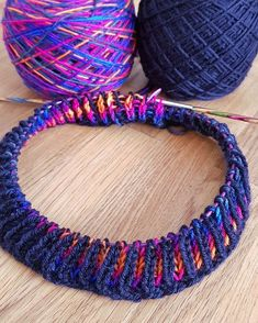 Learning all about Brioche knitting! Its easier than it looks!