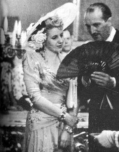 Eva Perón in France, 1947.