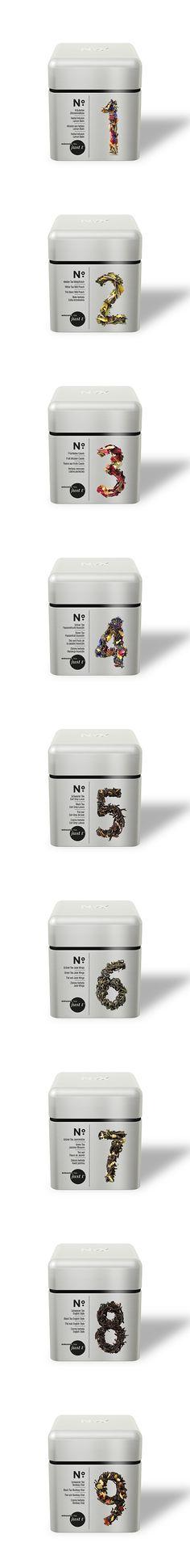 Just T packaging | Designer: Atelier Christian von der Heide - http://www.thedieline.com/blog/2012/11/14/just-t-black-label.html