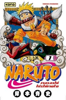 Couverture Naruto, tome 01