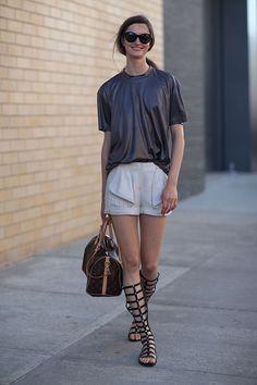 Street Style: New York Fashion Week Spring 2014 - Harper's BAZAAR