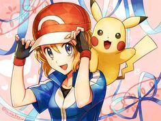 Pokémon||Serena & Pikachu