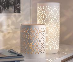Porcelánový svícen
