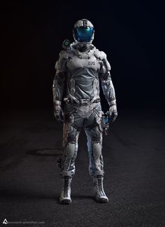 Col. Rigel (Lightweight EVA suit) Full Suit, Chris Chui on ArtStation at https://www.artstation.com/artwork/col-rigel-lightweight-eva-suit-full-suit