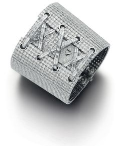 A cuff-style watch set with 1576 white diamonds, from Piaget s  Paris  c34925ffe8f