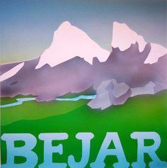 Key Visual 1987 aprox. Es Hoyamoros circo glaciar donde nace el río Cuerpo de Hombre. Mountains, Home Decor, Fun Projects, Art Director, Male Body, Advertising Agency, Bouldering, Comics, Illusions
